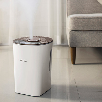 Bear humidifier household pregnant women and babies small air purification bedroom silent sterilization sprayer machine heavy fog