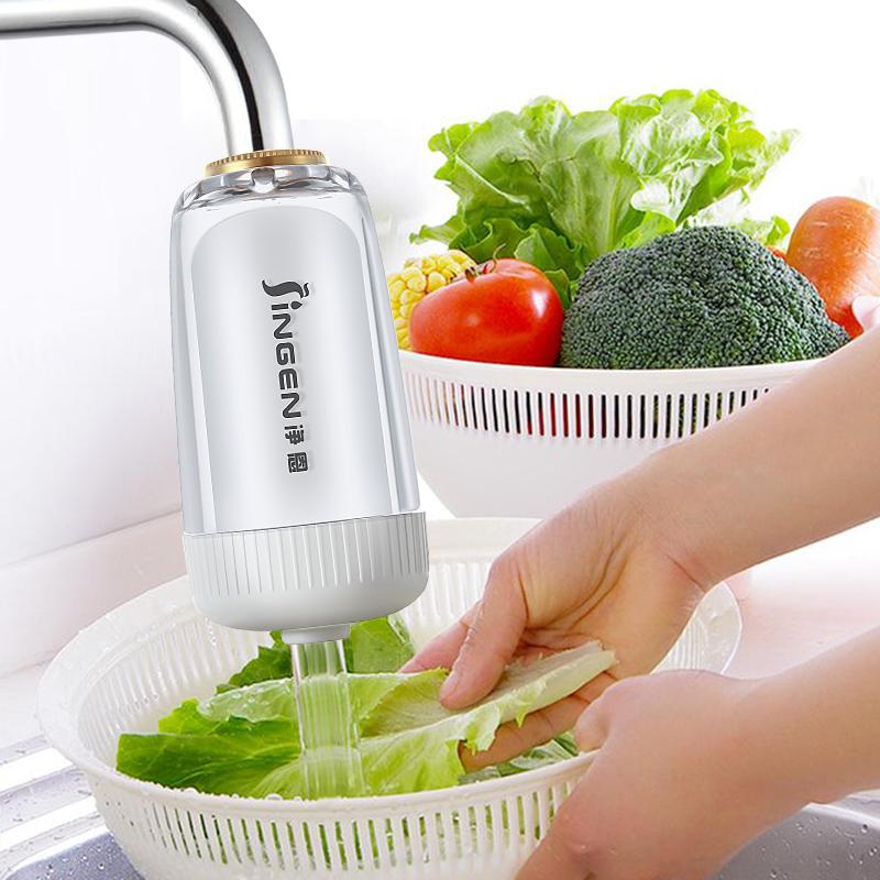 净恩水龙头净水器家用自来水过滤器非直饮机厨房前置滤水器净化器