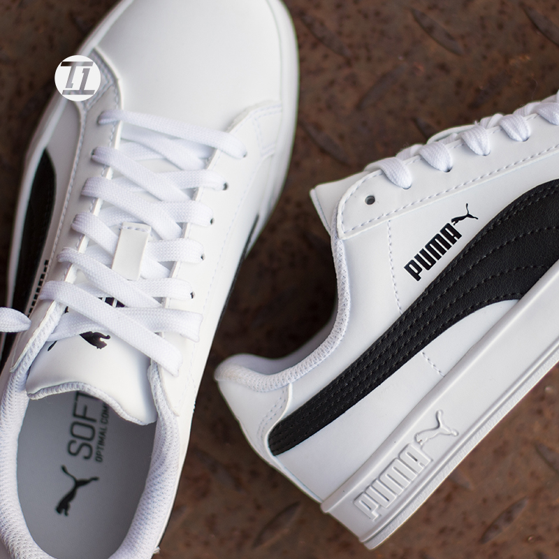 info for 3402d 6fb9c Hummer Puma Smash Vulc white shoes sports casual men and ...