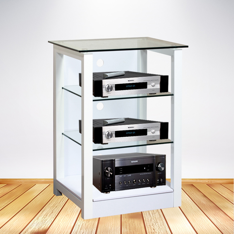 New Amplifier Cabinet Black And White Living Room Audio Visual Equipment Rack Gl Professional Theater
