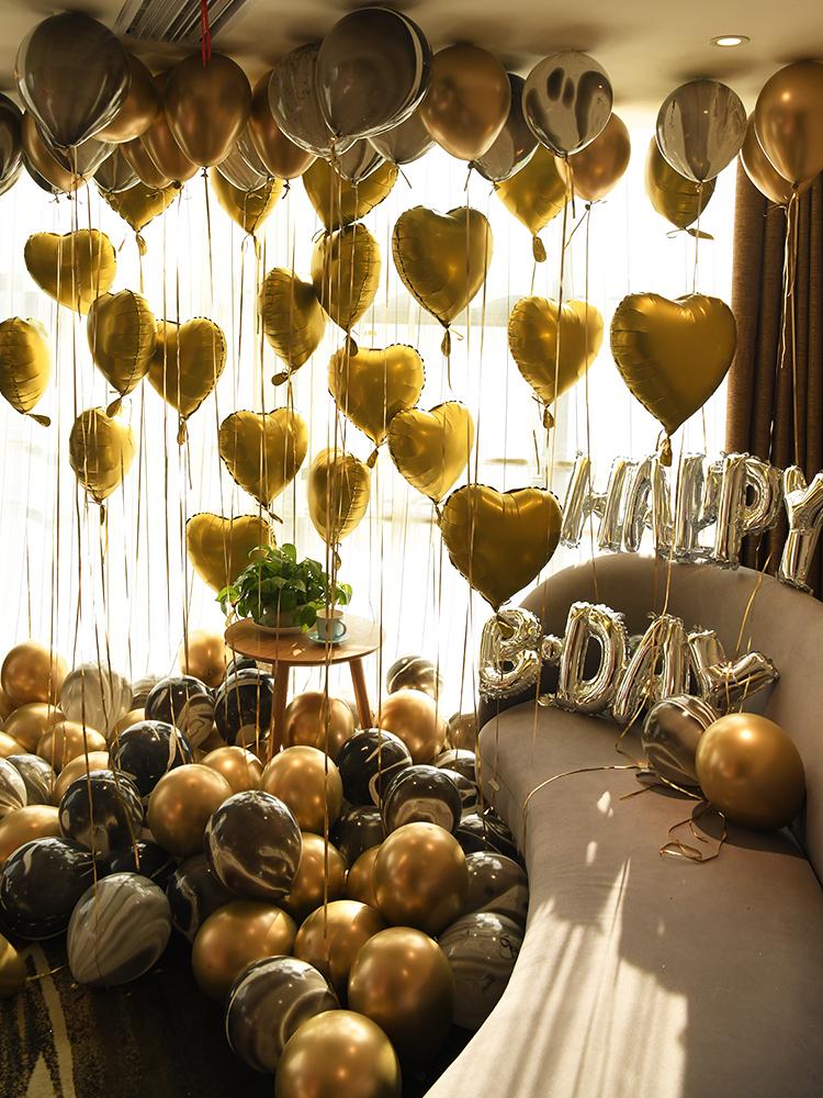 Usd 55 46 Birthday Party Decoration Boyfriend Birthday Room Layout