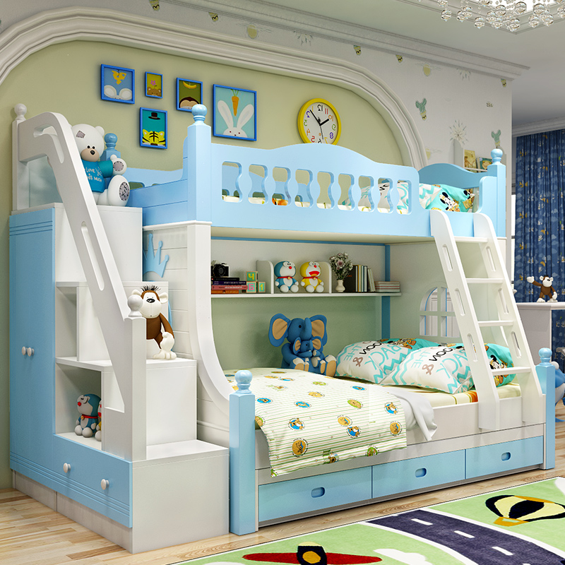 Usd 967 14 Children Under The Bed Bunk Bed Girl Princess Pink