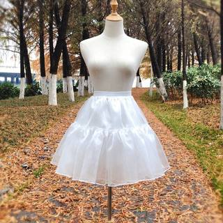 Skirt support Lolita everyday support boneless soft yarn support Lolita skirt support pompous Skirt Petticoat Huatian wedding dress