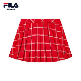 Юбки спортивные,  FILA милан модное платье неделю ICONIC серия красивый поле в этом же моделье модные тенденции уютный тканый юбка женщина, цена 6969 руб
