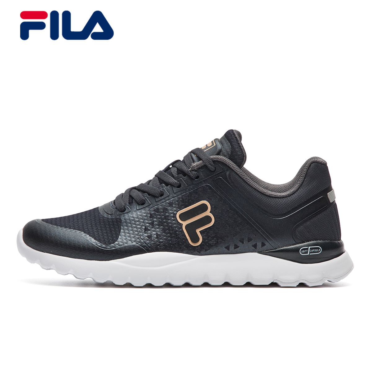 a4bb5e130855 FILA Fei Le shoes 2018 spring new LOGO breathable wear-resistant sports  shoes running shoes training shoes women