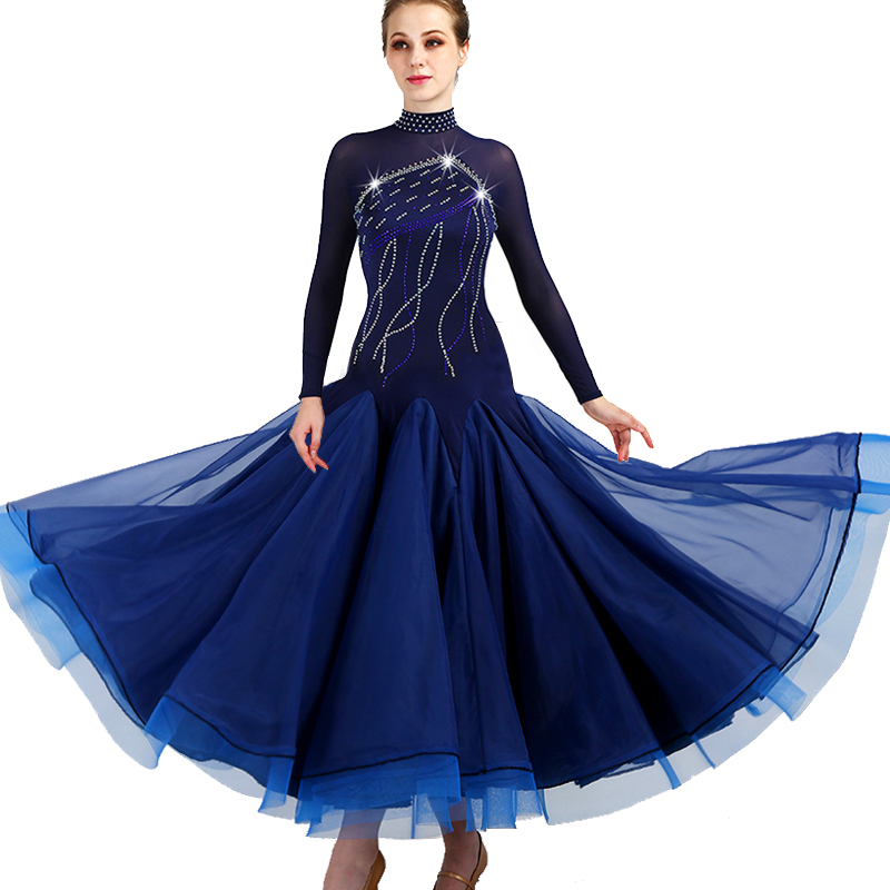 Modern Dance Competition Skirt, Dress, Tango Ballroom Dance Dress