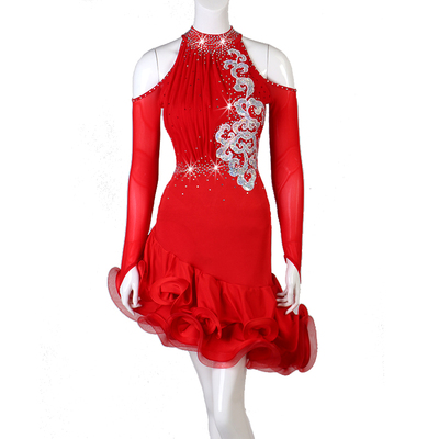 Latin Dance Dresses Latin dancing dress women dancing gown Dance Dress Latin gown