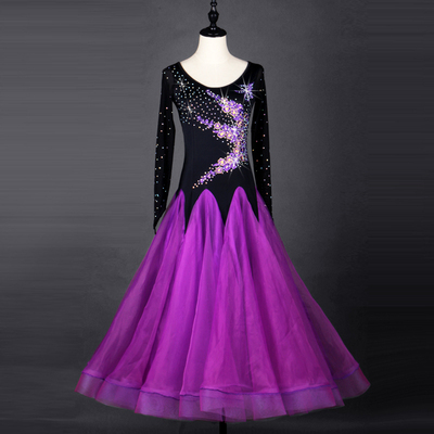Modern Dance Show Dresses, Friendship Dance Dresses, High-end National Standard Dance Competition Dresses, Group Show Dresses