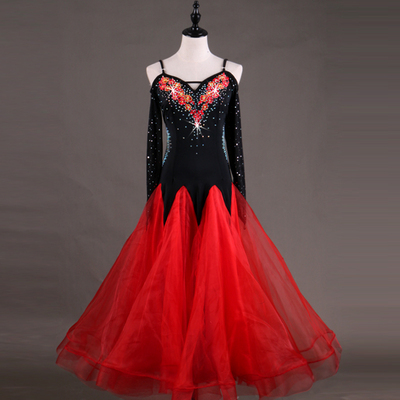 Ballroom Dance Dresses Waltz Show Dresses for Modern Dance Competition Dresses for National Standard Dance Dresses