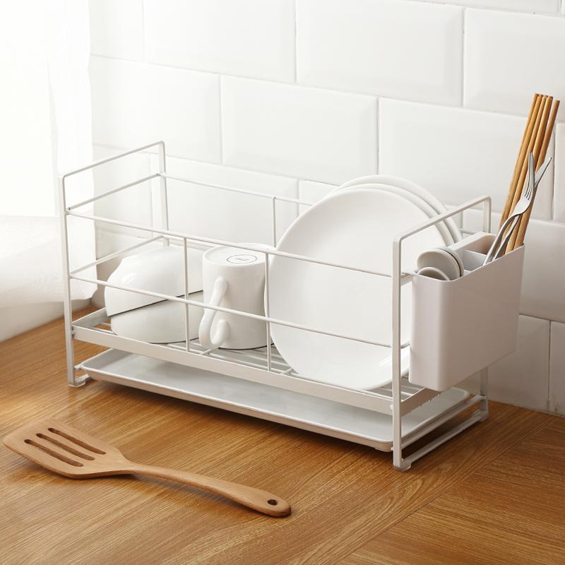 刀叉置物架碗筷家用厨房架沥水小工具餐具小百货多功能晾水v刀叉架