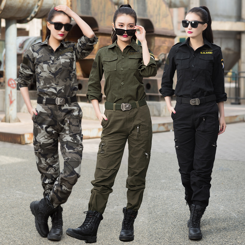 [USD 125.11] Outdoor camouflage suit Female Tactical ...