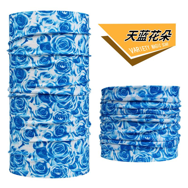 День синий цветы