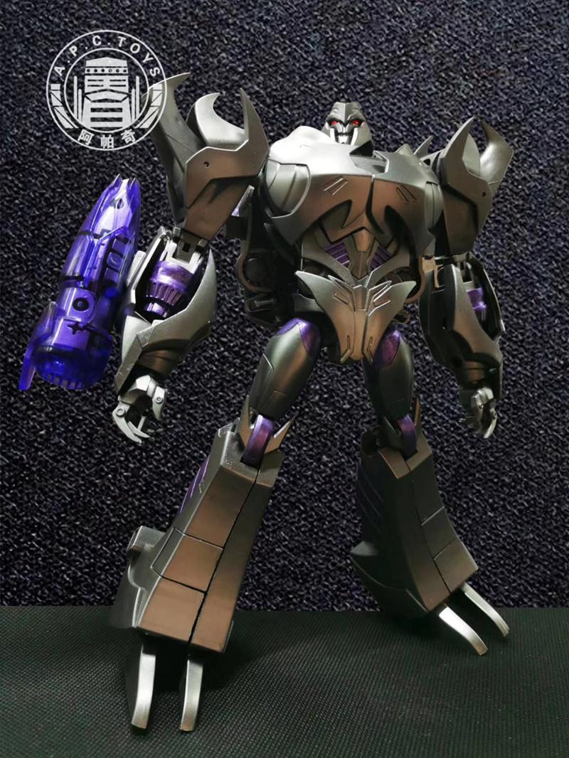 Transformers APCTOYS Leadership Certificate Megatron V Days V-Class Dark Leader