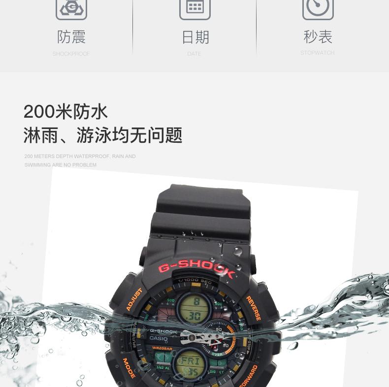 時空錶行~卡西歐手錶G-SHOCK GMA-S140M-4A/S140-1A/7A/2A/8A電子男女腕錶