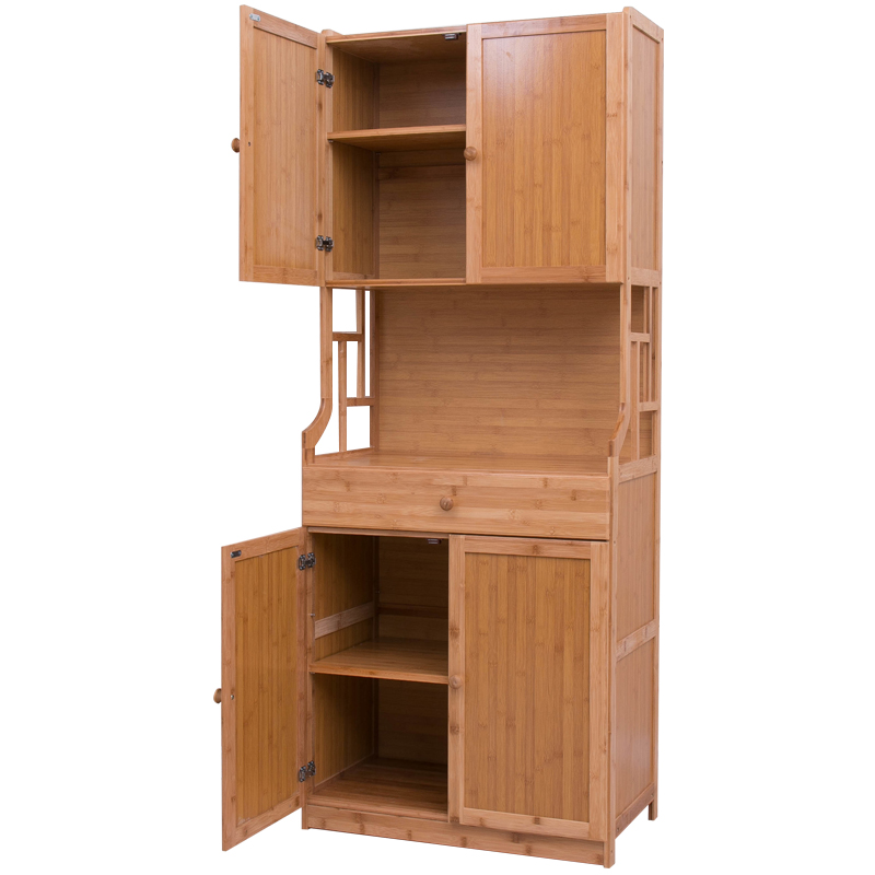 Simple Dining Cabinet Cupboard Kitchen Microwave Cabinet Storage Cabinet  Living Room Cabinet Simple Storage Tea Cabinet