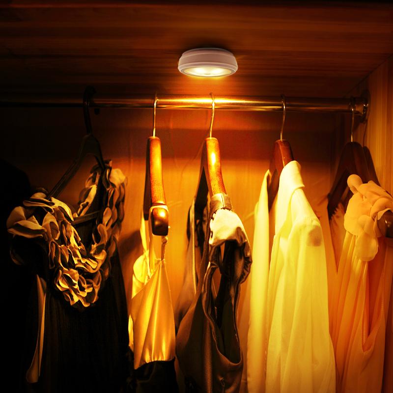 朗美科led燈智能人體感應燈櫥櫃衣櫃燈 充電電池光控小夜燈樓道燈