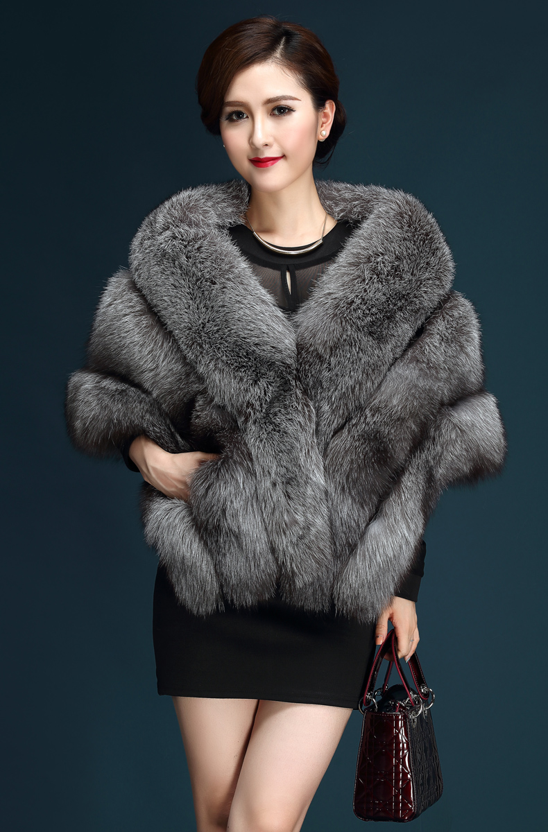 Fur wraps and shawls for women forecasting dress for spring in 2019