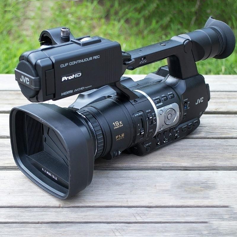 JVC/杰伟世 JY-HM360专业旅游婚庆手持式高清视频会议肩扛摄像机