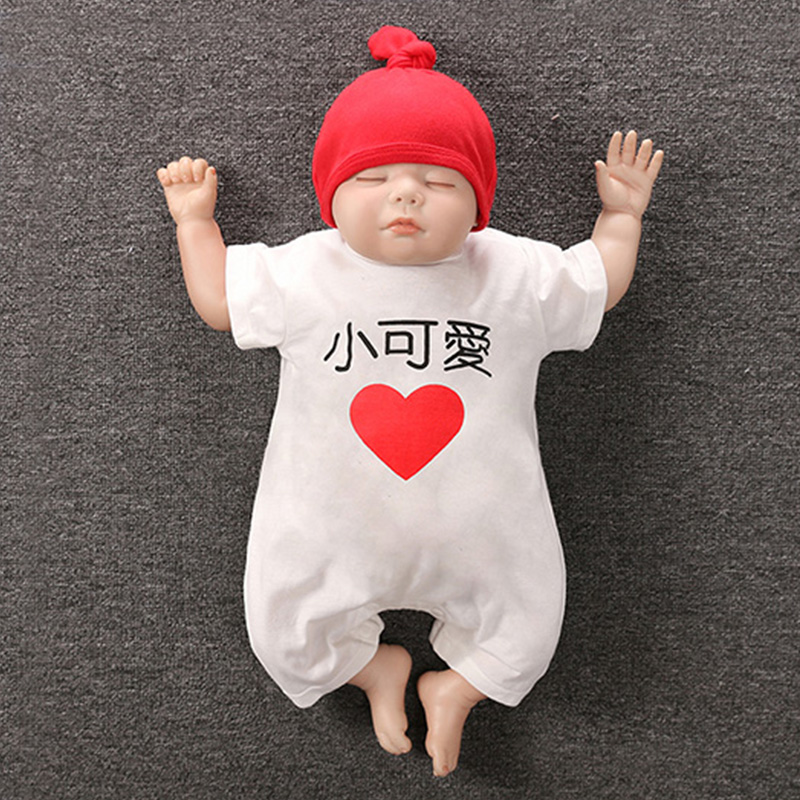 c24db4240 Newborn baby child Siamese clothes spring and autumn baby male summer dress  thin section female net red cute super cute princess full moon suit
