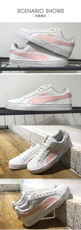 Puma Puma X BTS BTS Sakura Pink Black and White Men's and Women's Sneakers 366202 01