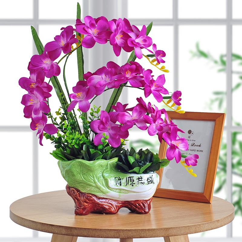 USD 15.58] Anthurium artificial plants artificial flowers simulation ...