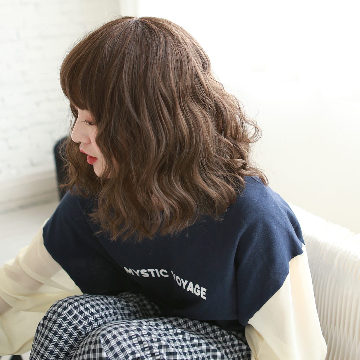 Usd 39 66 Japanese Fashion Wig Women Short Hair Short Curly Hair Corn Hot Korean Style Bubble Faced Curly Collarbone Hair Female Net Red Wholesale From China Online Shopping Buy Asian Products Online