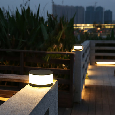 Solar Pillar Lights ...