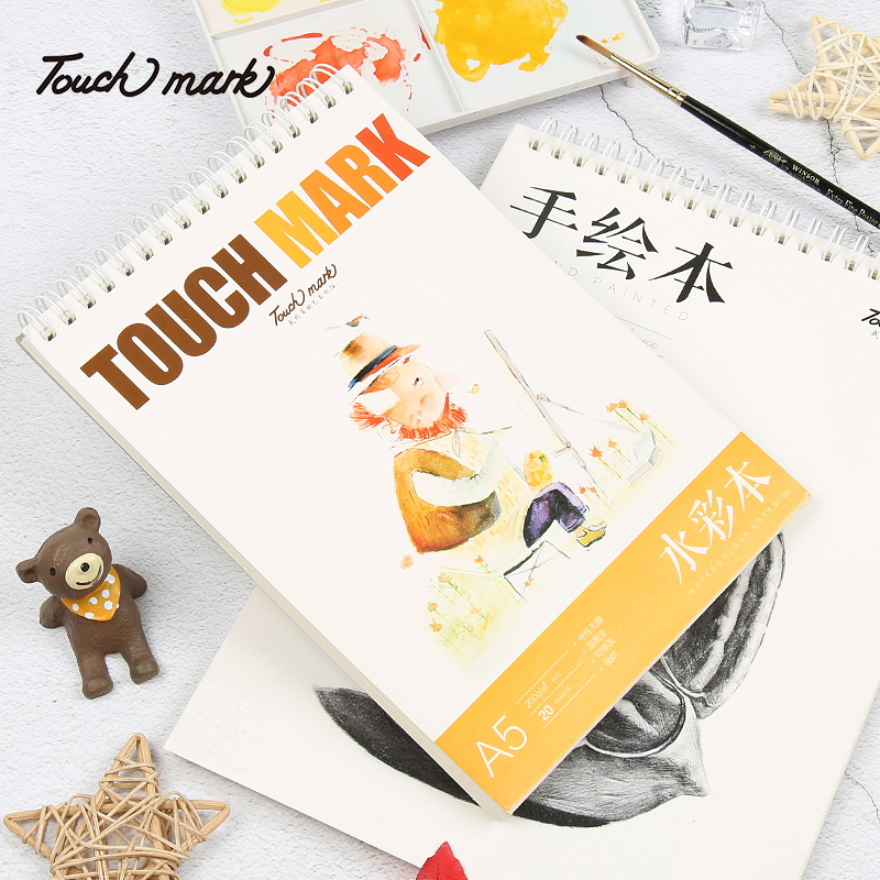 usd 6 26 genuine touch mark watercolor paper art hand painted book