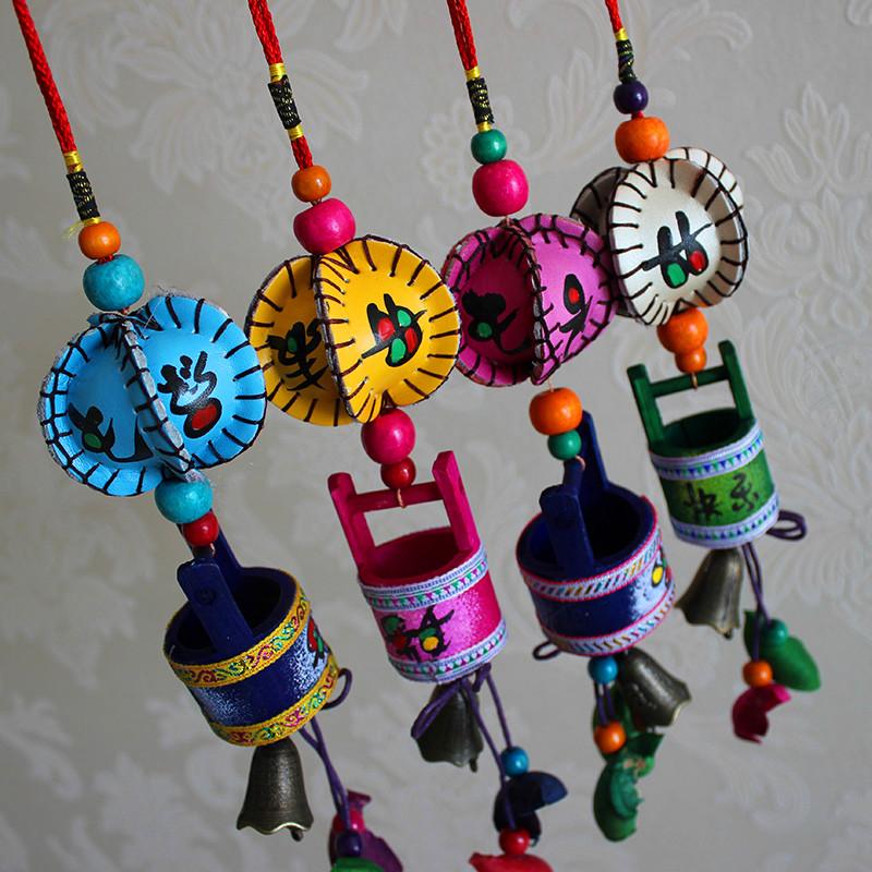 Usd 5 02 Ornaments Campanula Small Bamboo Bucket Hanging Ornaments