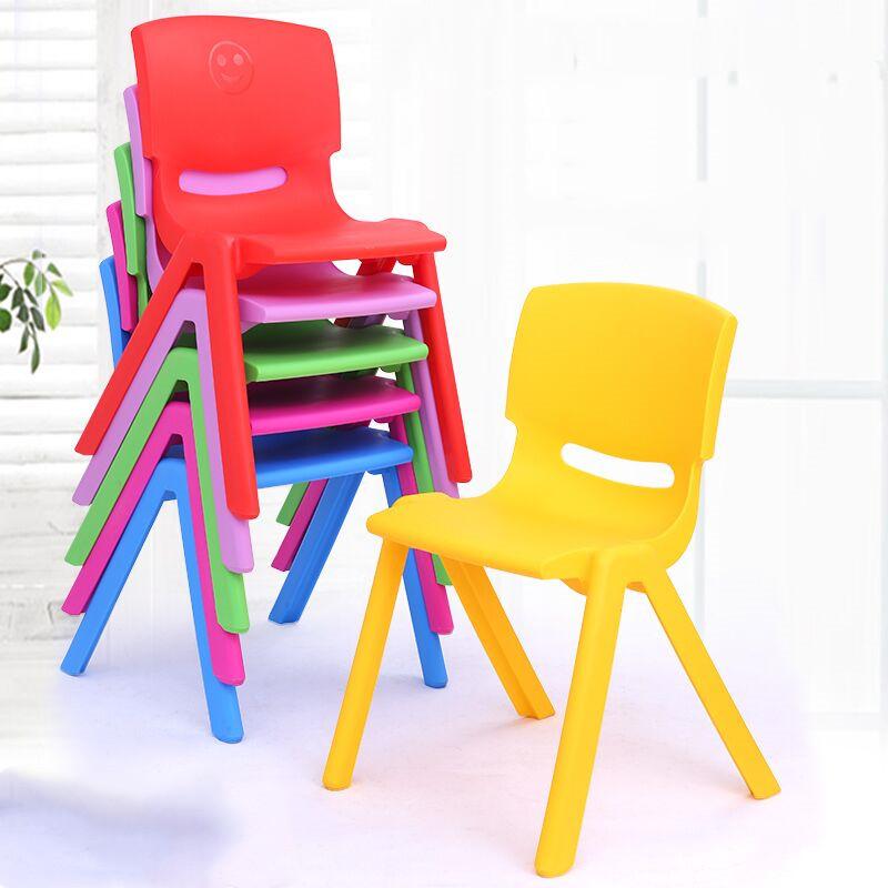 加厚椅子儿童板凳幼儿园靠背椅塑料凳子宝宝椅小椅子家用凳子防滑
