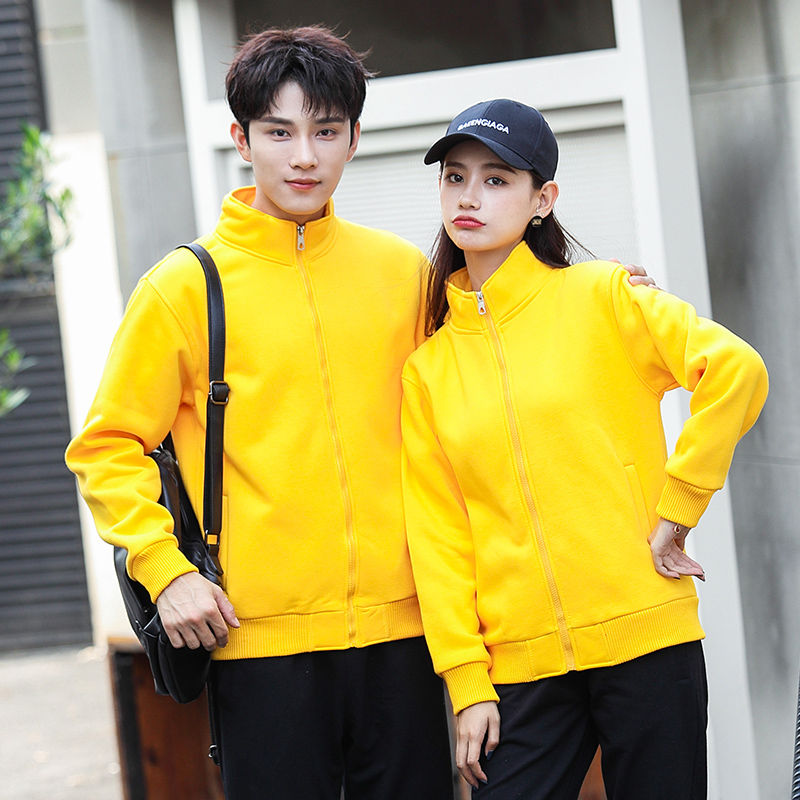 Waiter overalls long-sleeved female hotel catering hot pot tea shop supermarket staff Clothing Set collar sweater
