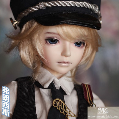 taobao agent MK-1/4 BJD/SD Male Doll 4 Points Male Baby Military Uniform-Francis (10% off free shipping gift bag)
