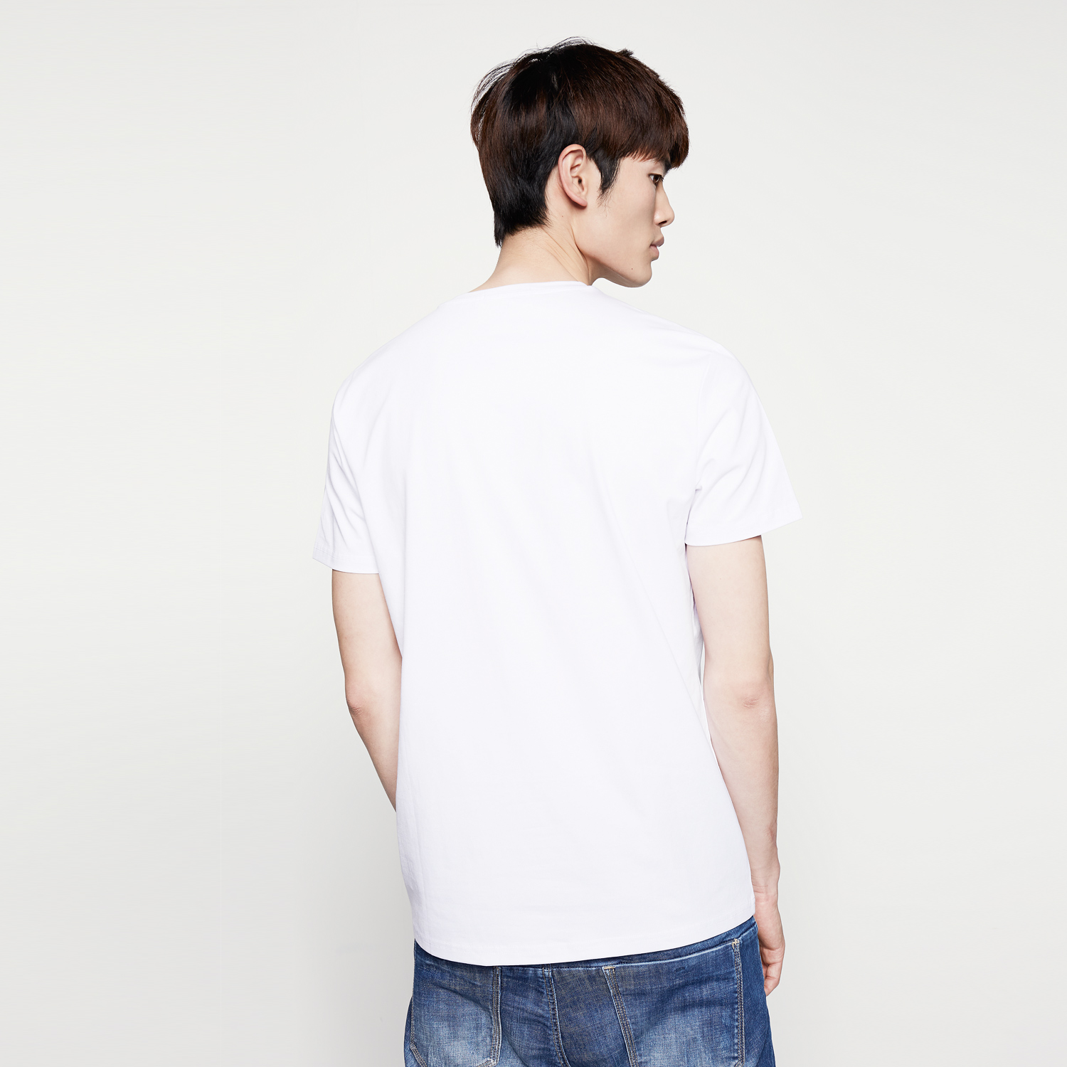 Usd hla heilan home round neck printing short for 24 t shirt printing
