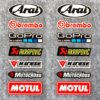 Suitable for arai gopro Scorpio motul motorcycle auto accessories reflective stickers foil