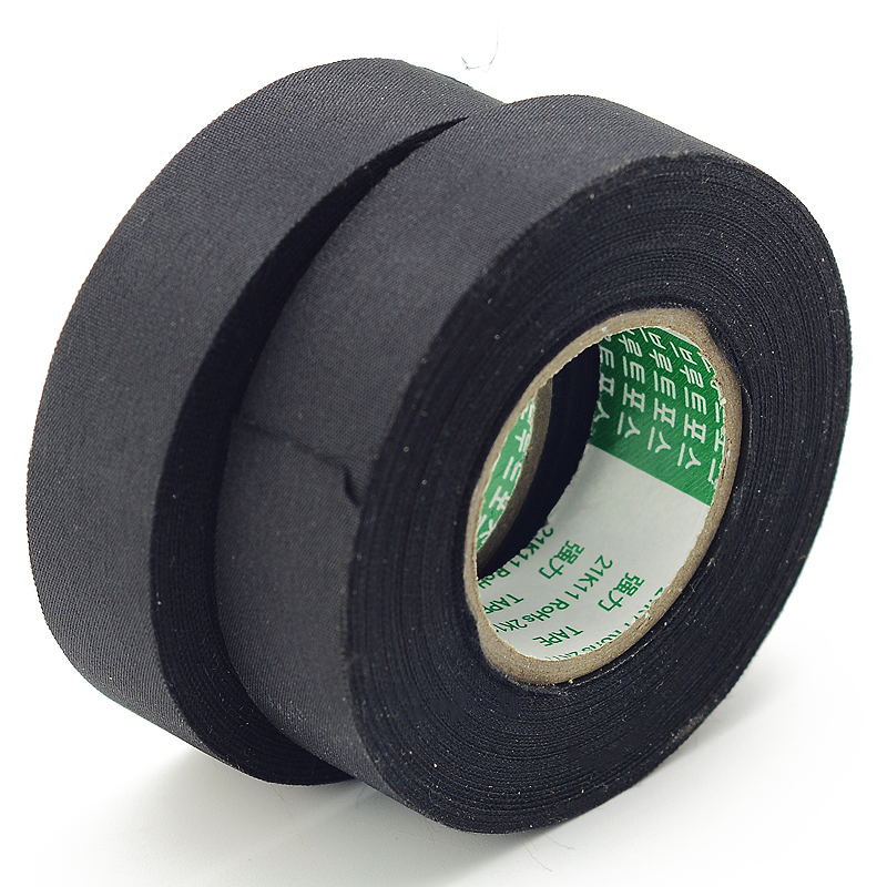 Powerful acetic acid tape is not easy to tear polyester canvas automobile  wire micelle rubber cloth high temperature insulation velvet package