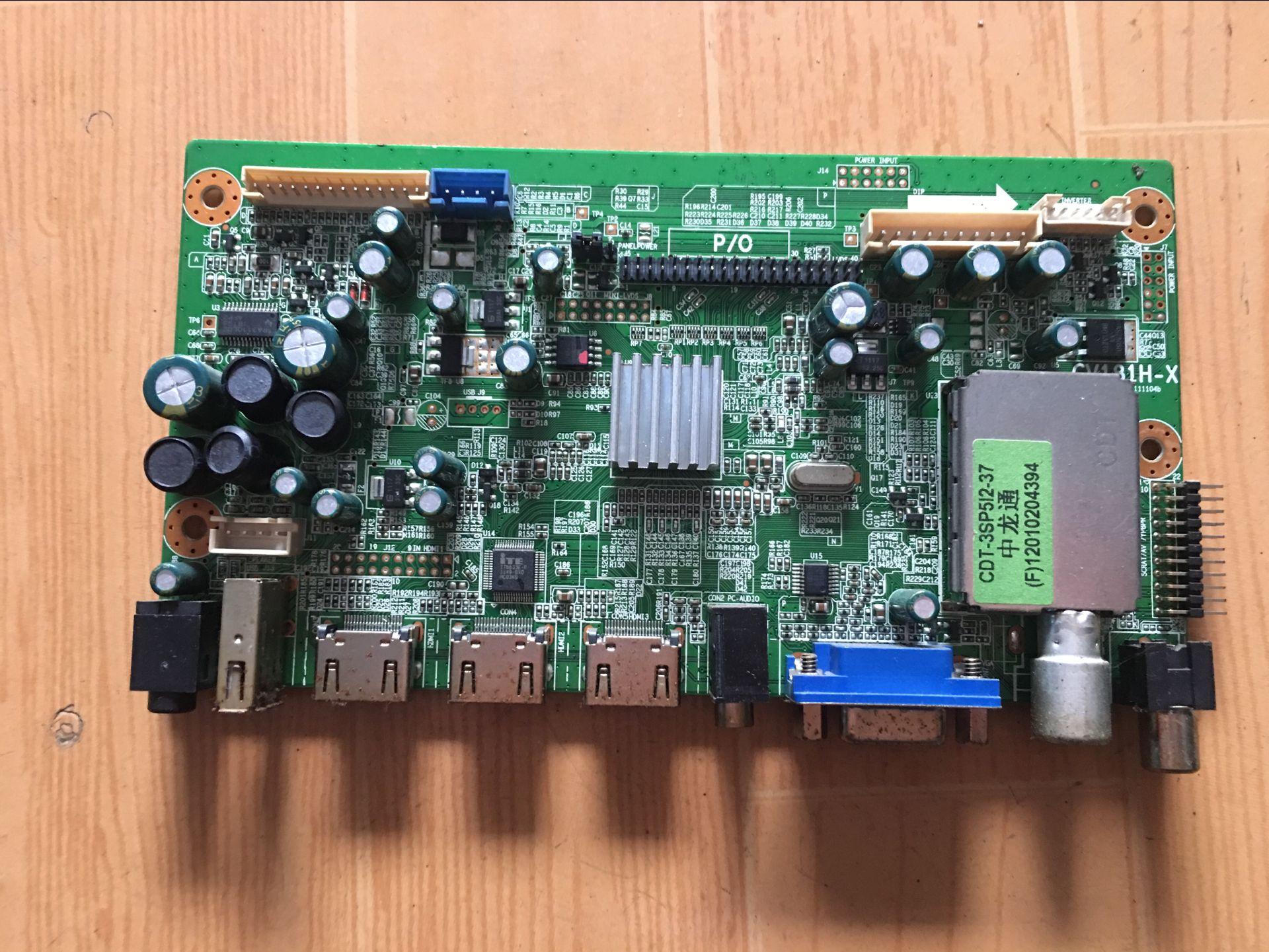 Original Bo Yige LTV3261 Motherboard CV181H-X Screen LTA320AP29