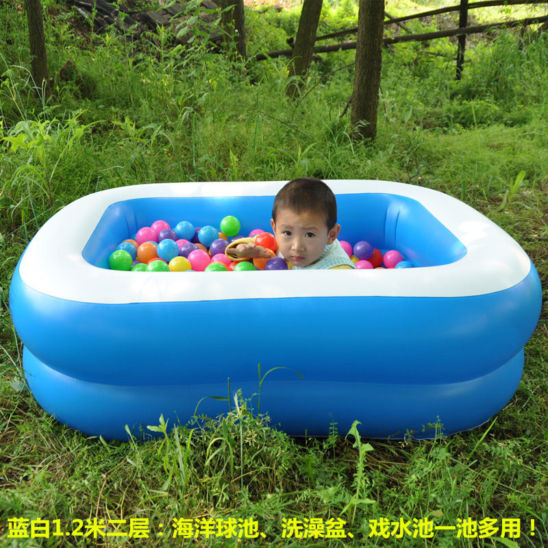 Newborn baby swimming pool household inflatable toddlers children ...