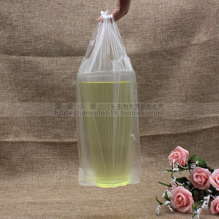 Подарочный пакет 750 удлиненные пакетика чая упаковывая мешок чашки мешок молоко мешок на вынос один Кубок мешок мешок упаковки