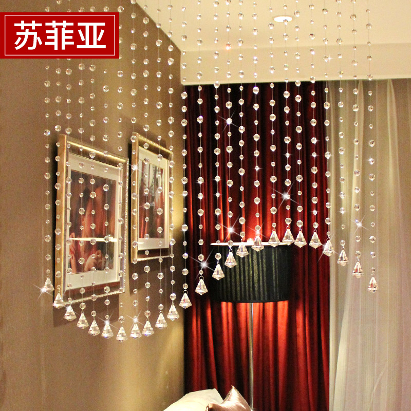 Usd 6 78 Sofia Crystal Bead Curtain Break Curtain Finished Door Curtain Entrance Screen Screen Screen Bedroom Feng Shui Curtain Dining Room Decoration Wholesale From China Online Shopping Buy Asian Products