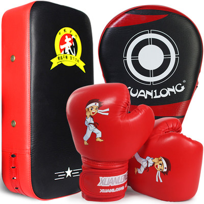 Children's boxing gloves, toddlers, boys, children, baby suits, fighting punching bags, girls, Sanda training gloves