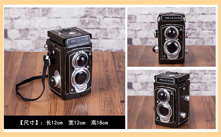 復古老式缝纫机收音录音机电视机投影机摄影机打字机模型道具摆件详细照片