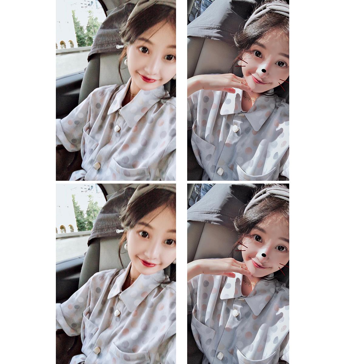 Daxi домашняя осенняя одежда женская 2018 новая коллекция корейская версия Ранняя осень длинный рукав сорочка платье осень длинный фасон Тонкая юбка