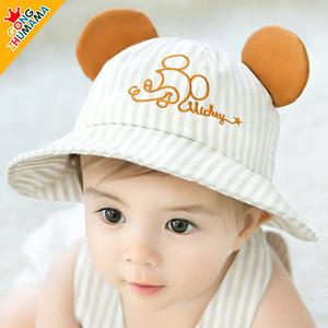 宝宝夏季薄款防晒太阳帽