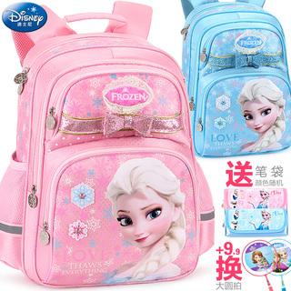 Детские сумки, ранцы, кошельки,  Disney ученик портфель девочки 1-3-4 три и четыре класс лед романтика девушка ребенок меньше отрицательный рюкзак 6, цена 1243 руб