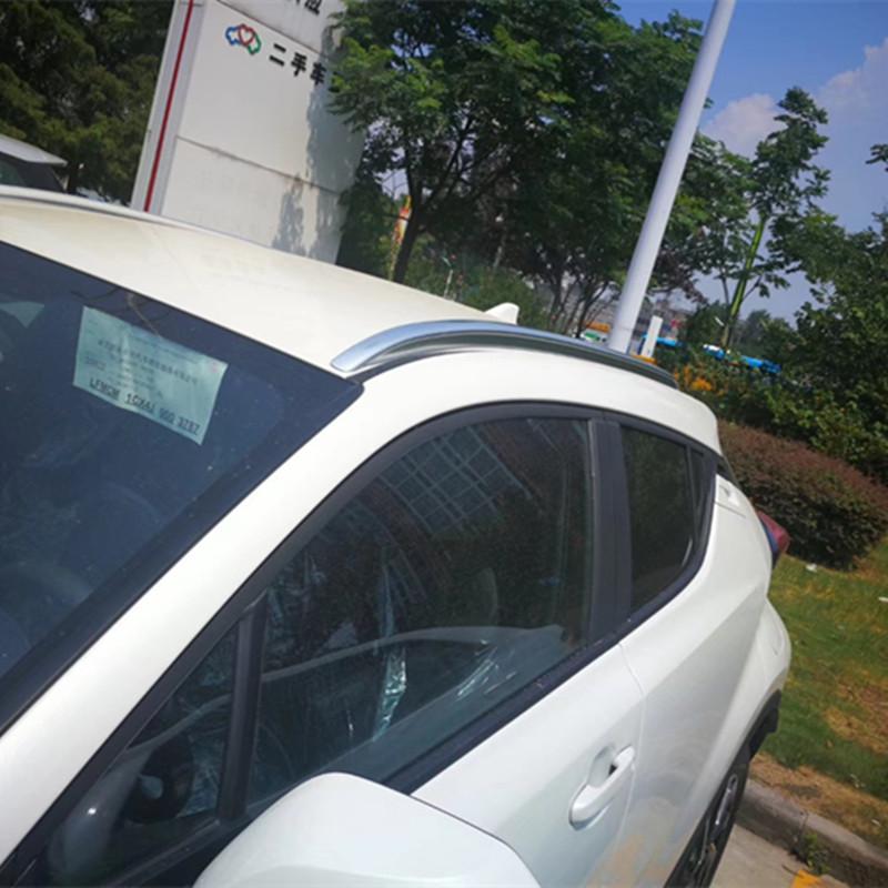 Thích hợp cho Toyota Yize CHR giá đỡ hành lý bằng nhôm hợp kim giá nóc Yize IZOA miễn phí đấm vít giá du lịch - Roof Rack