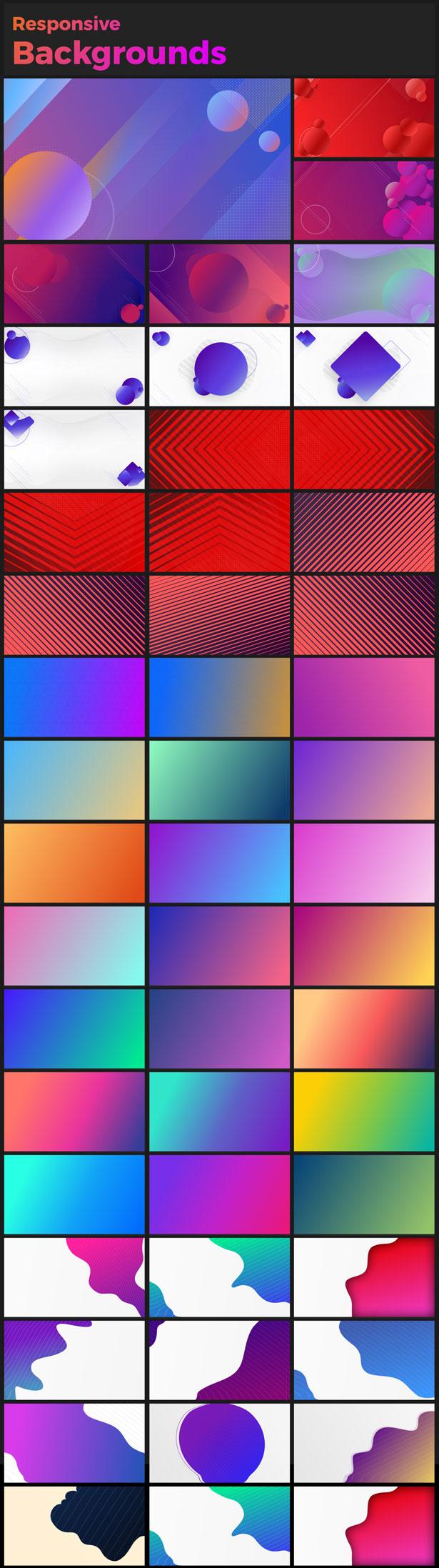 AE模板-860组文字标题排版图形转场气泡指示线背景动画元素V18
