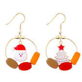 Christmas Themed Dangly Earrings
