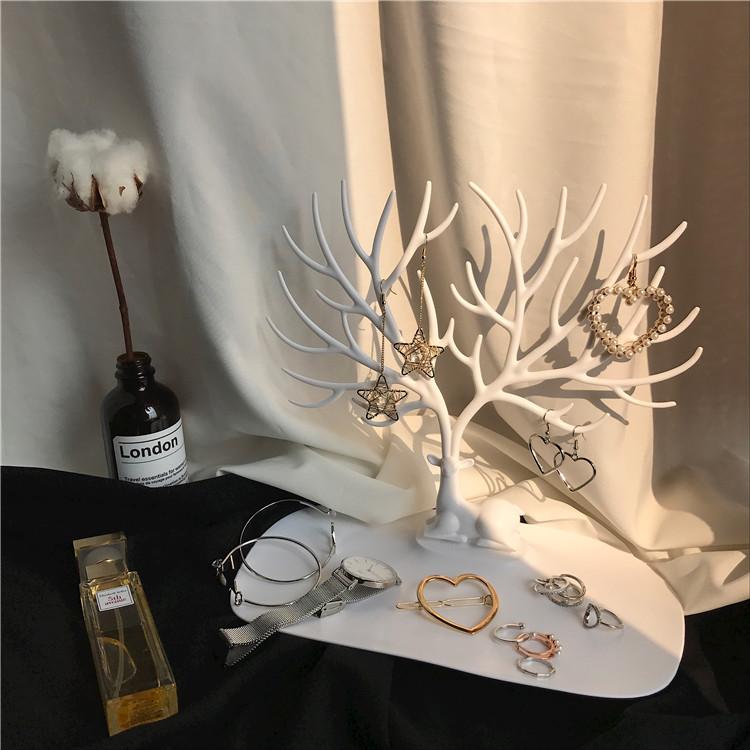 Лес оленьи рога дерево форма творческий аксессуары шкатулка серьги полка ожерелье браслет серьги в коробку аксессуары полка M001