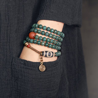 Retro original Bodhi root multi-storey bracelet female play to play bead bracelet men's personality literary national wind necklands