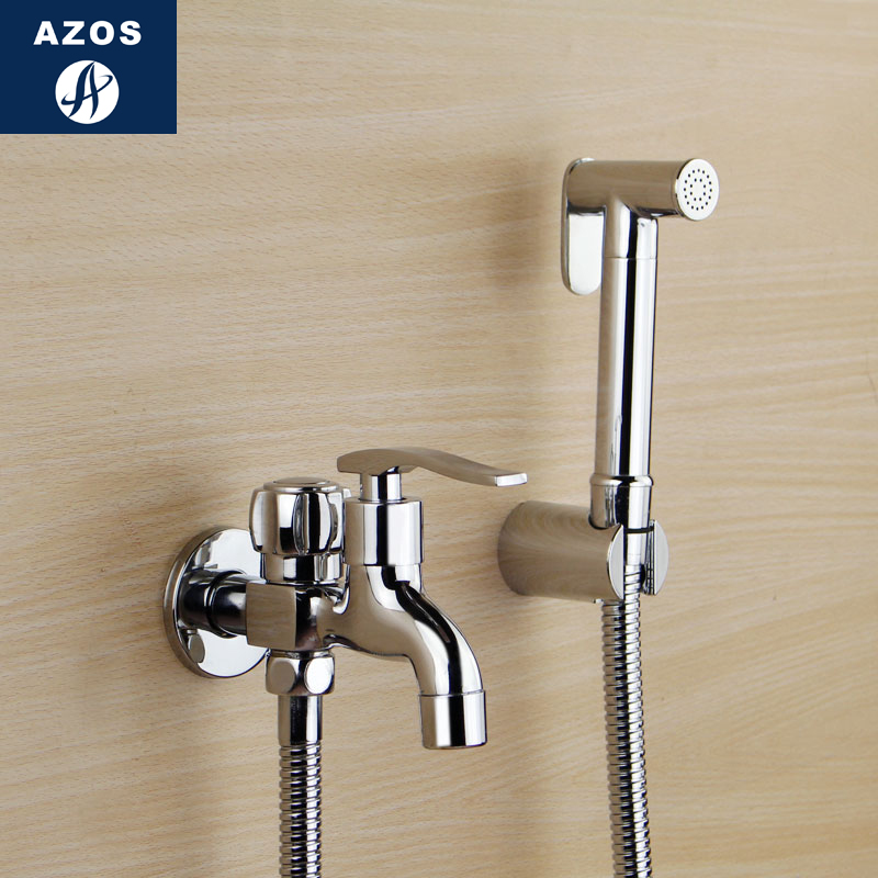 Germany AZOS Pressurized Hand Held Shower Bidet Shower Shower Shower Shower  Shower Toilet Valve Faucet